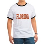 Orange Florida Merchandise Ringer T