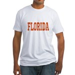 Orange Florida Merchandise Fitted T-Shirt