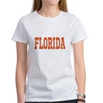 Orange Florida Merchandise Women's T-Shirt