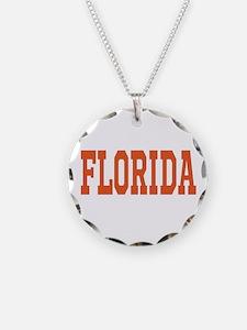 Orange Florida Merchandise Necklace