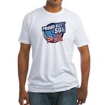 Navy Son Fitted T-Shirt