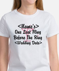 Customize Bachelorette Party Tee