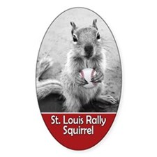 St Louis Rally Squirrel v2 Decal