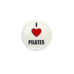 I LOVE PILATIES Mini Button (10 pack)
