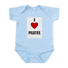 I LOVE PILATIES Infant Creeper