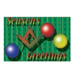 Seasons Greetings Postcards (Package of 8)