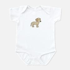 Cute Labrador Infant Bodysuit