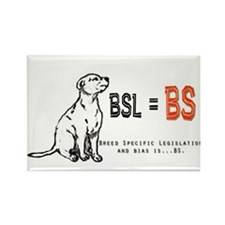 BSL is BS! Rectangle Magnet (10 pack)