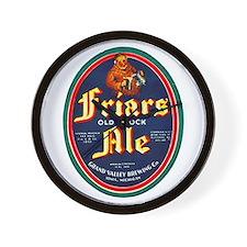 Michigan Beer Label 9 Wall Clock