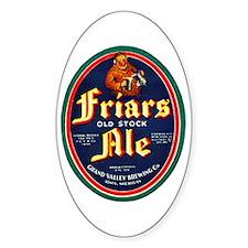 Michigan Beer Label 9 Decal