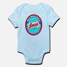 Wisconsin Beer Label 9 Infant Bodysuit