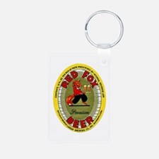 Connecticut Beer Label 2 Keychains