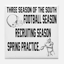 Southern Football Season Tile Coaster