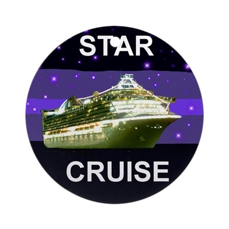 Star Princess Cruise Ornament (Round)