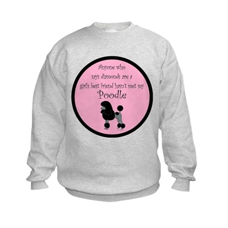 Girls Best Friend Kids Sweatshirt