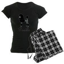 Black Poodle Pajamas