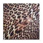 Exotic Leopard Print Tile Coaster
