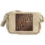 Exotic Leopard Print Messenger Bag