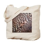 Exotic Leopard Print Tote Bag