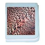 Exotic Leopard Print baby blanket