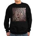 Exotic Leopard Print Sweatshirt (dark)