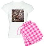 Exotic Leopard Print Women's Light Pajamas