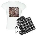 Exotic Leopard Print Women's Light Pajamas
