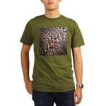 Exotic Leopard Print Organic Men's T-Shirt (dark)