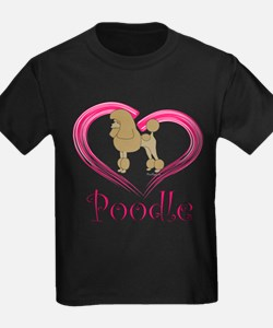 Heart My Poodle T