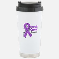 Pancreatic Cancer Awareness Travel Mug