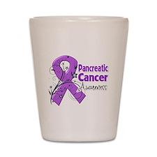 Pancreatic Cancer Awareness Shot Glass