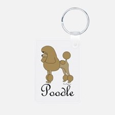 Apricot Poodle Keychains