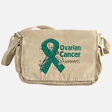Ovarian Cancer Awareness Messenger Bag