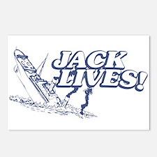 """""""Jack Lives!"""" Postcards (Package of 8)"""