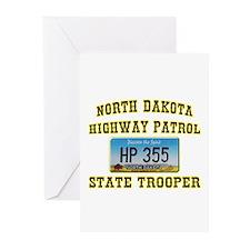 North Dakota Highway Patrol Greeting Cards (Pk of
