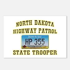 North Dakota Highway Patrol Postcards (Package of