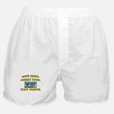 North Dakota Highway Patrol Boxer Shorts