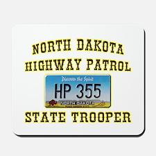 North Dakota Highway Patrol Mousepad