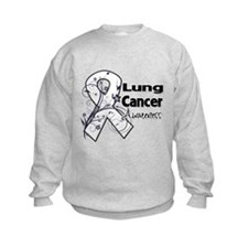 Lung Cancer Awareness Sweatshirt