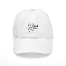 Lung Cancer Awareness Baseball Cap