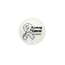 Lung Cancer Awareness Mini Button (10 pack)
