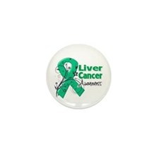 Liver Cancer Awareness Mini Button (10 pack)