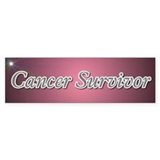 Cancer Survivor Bumper Bumper Sticker