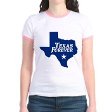 Texas Forever (Blue - Cutout Ltrs) T