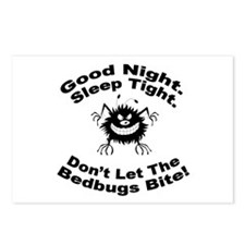 Bedbugs Bite Postcards (Package of 8)
