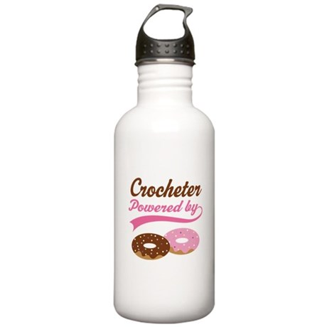 Crocheter Gift Donuts Stainless Water Bottle 1.0L