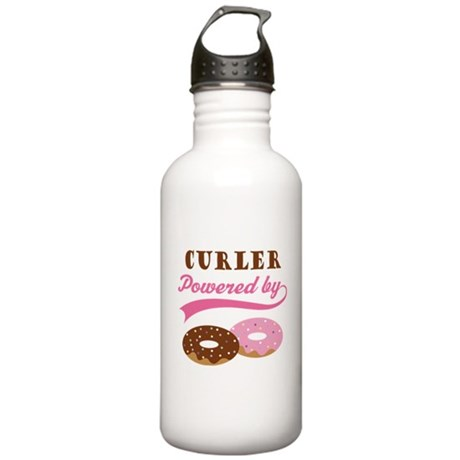 Curler Gift Doughnuts Stainless Water Bottle 1.0L