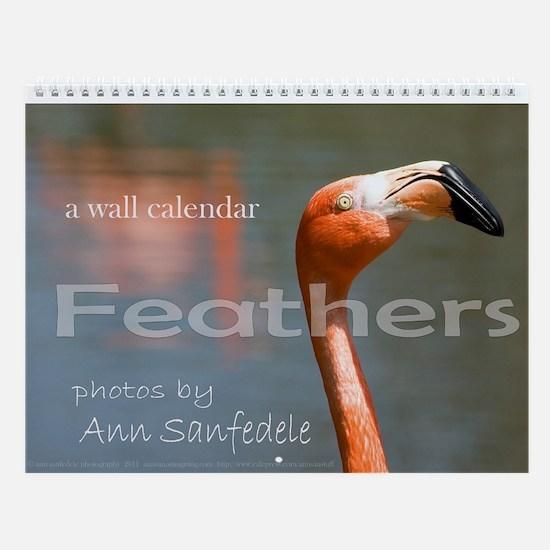 Feathers Wall Calendar