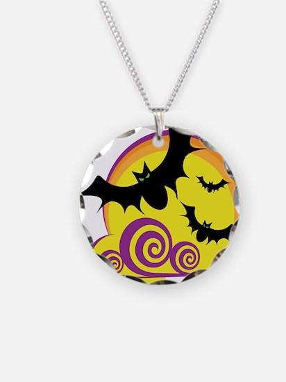 Bats Halloween Necklace