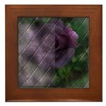 Rose Forever Poem Tile Framed Tile